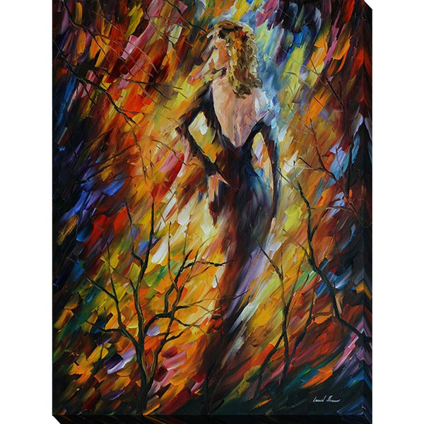 Leonid Afremov 'Queen Of Fire' Giclee Print Canvas Wall Art