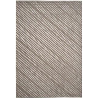 Safavieh Monroe Striped Indoor/ Outdoor Grey Rug - 6'7 x 9'6