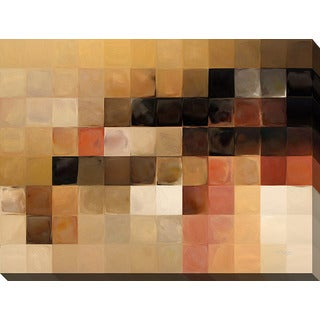 Mark Lawrence 'Tile Art #15 2013' Giclee Print Canvas Wall Art