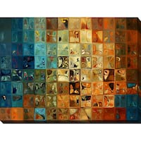Mark Lawrence 'Modern Tile Art #11 2009' Giclee Print Canvas Wall Art
