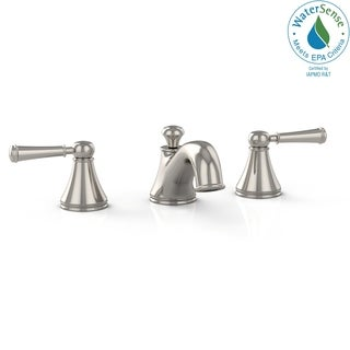 Toto TL220DD1#PN Vivian Widespread Polished Nickel Lavatory Faucet with Lever Handles