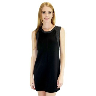 Relished Women's Bridget Black Sleeveless Dress