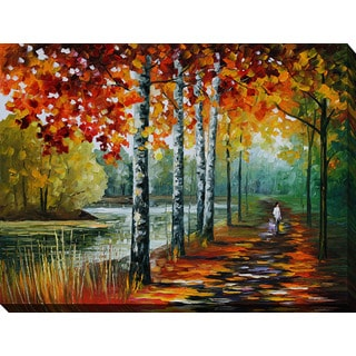 Leonid Afremov 'By The Lake' Giclee Print Canvas Wall Art