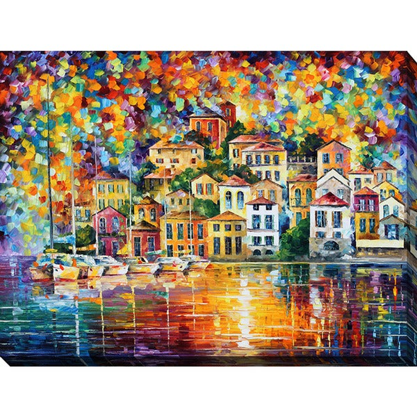 leonid afremov giclee print canvas wall art