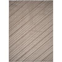 """Safavieh Monroe Grey Striped Indoor/ Outdoor Rug - 8' x 11'-2"""""""