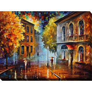 Leonid Afremov 'Etude In Red' Giclee Print Canvas Wall Art
