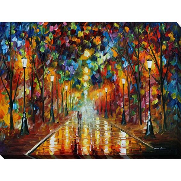 Leonid Afremov U0026#x27;Farewell To Angeru0026#x27; Giclee Print Canvas Wall