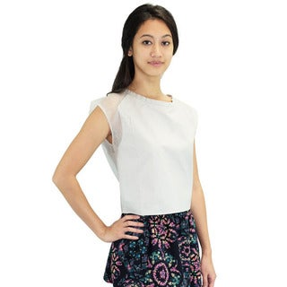 Relished Women's Marina Grey Crop Top