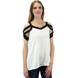 Relished Women's Venizia Woven Sleeve Top