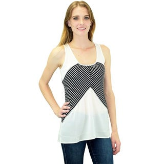Relished Women's Seas the Day V-Stripe Top