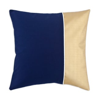 Duck Navy and Gold 19-inch Throw Pillow