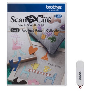 Brother ScanNCut Die Cut Machine Applique Pattern Collection