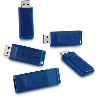 Verbatim 8GB USB Flash Drive - 5pk - Blue