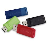 Verbatim 16GB Store 'n' Go USB Flash Drive - USB 2.0 - 4pk
