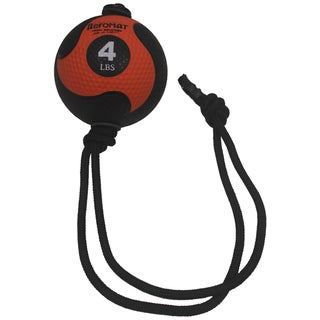 Link to Aeromat Power Rope 4-pound Medicine Ball Similar Items in Fitness & Exercise Equipment