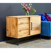 "Aurelle Home Carlisle Farmhouse Wood Sideboard - 40"" x 18"" x 30"""