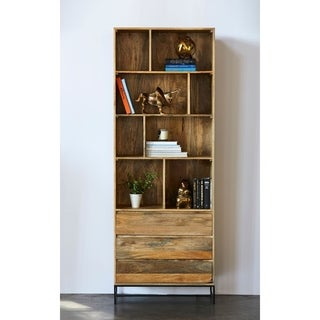 Aurelle Home Beat Shelf with Drawers