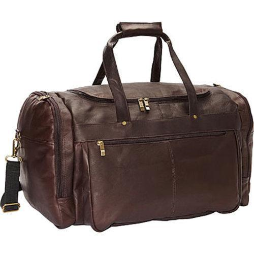 3b41c0c1b5 Shop David King Leather Extra Large Cafe Promotional Duffel Bag - Free  Shipping Today - Overstock - 10268537