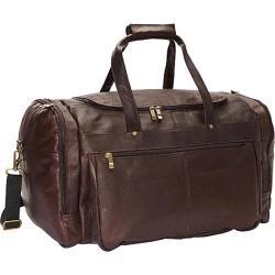David King Leather Extra Large Cafe Promotional Duffel Bag