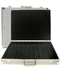 Aluminum Hard Side 1000-pc Poker Chip Capacity Case
