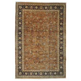 Hand-knotted Persian Mashad Oversize Oriental Rug (13' x 19'2)