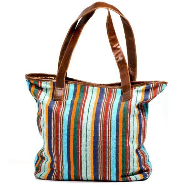 Handmade Boho Traveler Bag (India)