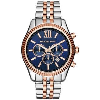 Michael Kors Men's MK8412 Lexington Two-tone Multifunction Watch