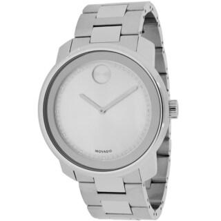 Movado Men's 3600257 Bold Round Silvertone Bracelet Watch
