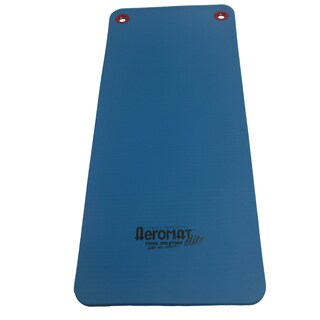 Aeromat Workout Mat with Eyelets (Option: Blue)