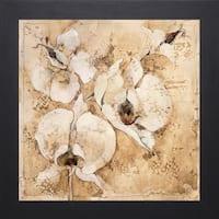Liz Jardine-Fragrant Snow l, 28 x 28 Framed Art Print