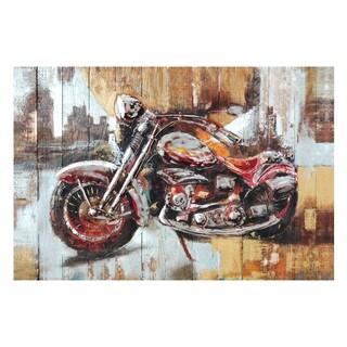 Aurelle Home Race City Canvas Wall Art