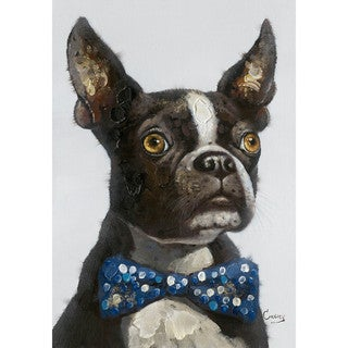 Aurelle Home Dog Terrier Best Friend Canvas Wall Art