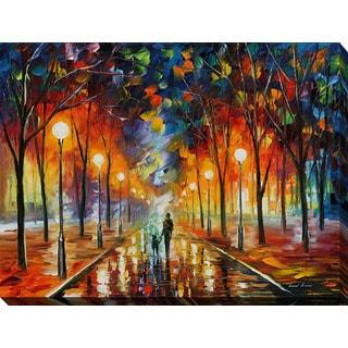 Leonid Afremov 'Friendship' Giclee Print Canvas Wall Art