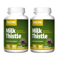 Jarrow Formulas Milk Thistle 150 MG 100 Capsules (Pack of 2)
