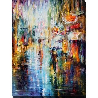Leonid Afremov 'Rain From The Soul' Giclee Print Canvas Wall Art