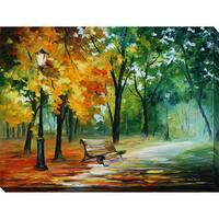 Leonid Afremov 'Imaginings' Giclee Print Canvas Wall Art