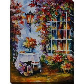 Leonid Afremov 'In The Garden' Giclee Print Canvas Wall Art