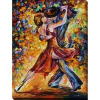 """Leonid Afremov """"In The Rhythm Of Tango"""" Giclee Print Canvas Wall Art"""