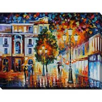 Leonid Afremov 'Lonley Couples' Giclee Print Canvas Wall Art