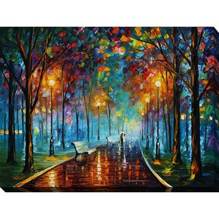 Leonid Afremov 'Misty Mood' Giclee Print Canvas Wall Art