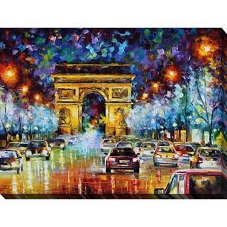 Leonid Afremov 'Paris Flight' Giclee Print Canvas Wall Art
