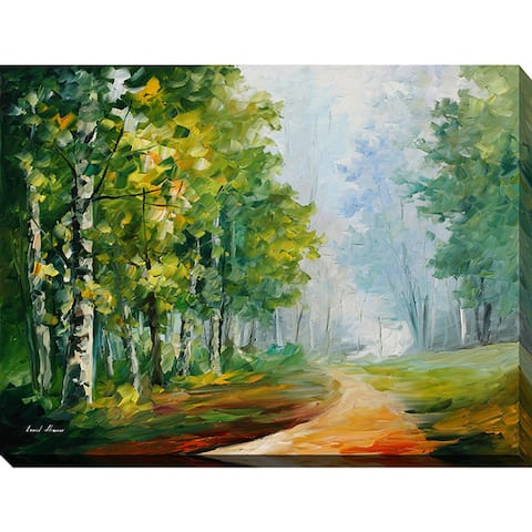 Leonid Afremov 'Summer Forest' Giclee Print Canvas Wall Art