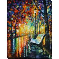 Leonid Afremov 'She Left...' Giclee Print Canvas Wall Art