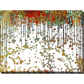 Mark Lawrence 'Verse Visions III' Giclee Print Canvas Wall Art