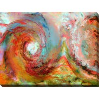 Mark Lawrence 'The Beginning' Giclee Print Canvas Wall Art