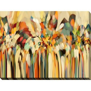 Mark Lawrence 'Angels Guiding Lot' Giclee Print Canvas Wall Art
