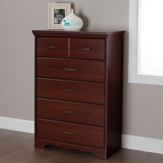 Laurel Creek Easton Antique Pewter 5-drawer Chest (4 options available)