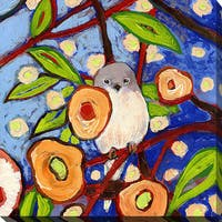 Jennifer Lommers 'Bird X' Giclee Print Canvas Wall Art