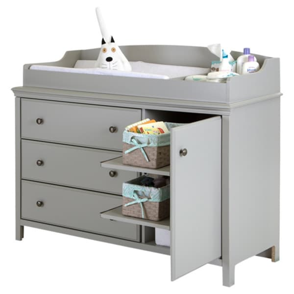 South Shore Cotton Candy Changing Table With Removable