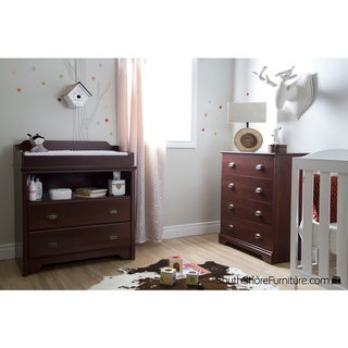 South Shore Fundy Tide Changing Table and 4-drawer Chest